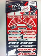 4MX Honda sticker set